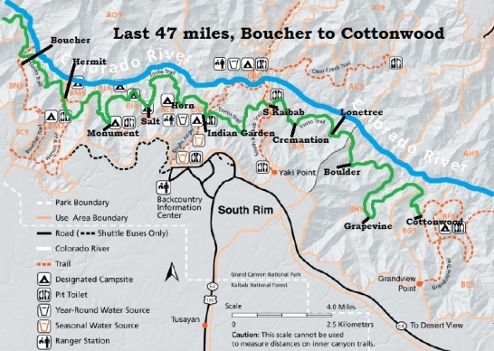 Grand Canyon throughrun 77 miles on the Tonto Trail Davy