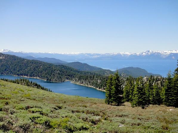 Marlette Lake and Lake Tahoe